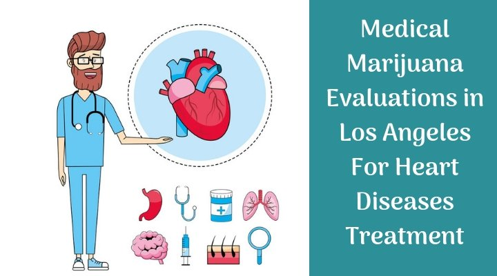 Medical Marijuana Evaluations in Los Angeles For Heart Diseases Treatment