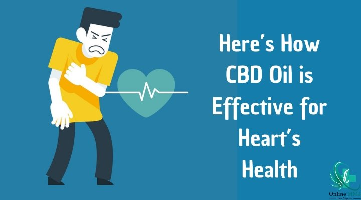 How is CBD Oil Helpful in Keeping a Heart Healthy?