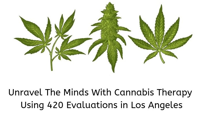 Unravel The Minds With Cannabis Therapy Using 420 Evaluations in Los Angeles
