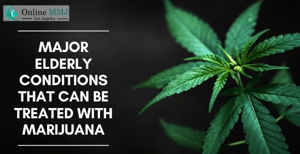 Major Elderly Conditions That Can Be Treated With Marijuana