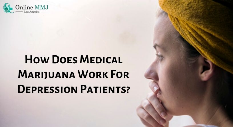 How Does Medical Marijuana Work For Depression Patients?